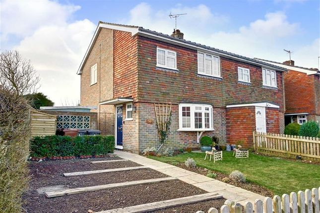 Thumbnail Semi-detached house for sale in West End, Herstmonceux, Hailsham