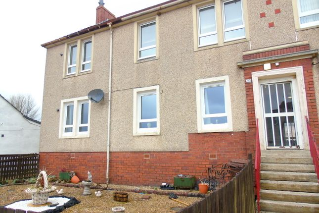 Thumbnail Flat for sale in Greengairs Road, Greengairs, Airdrie, North Lanarkshire