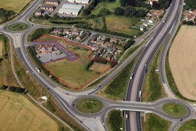 Thumbnail Land for sale in Plot A, Melton Park, Monksway West, Melton, Hull, East Yorkshire