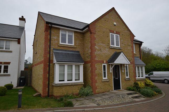 Thumbnail Detached house for sale in Endeavour Close, Lower Stondon, Bedfordshire