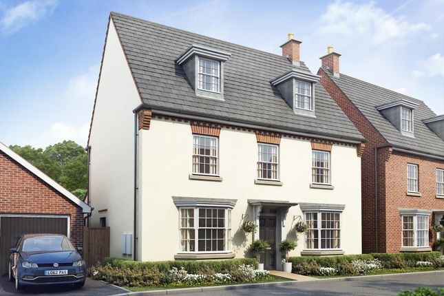 "Thumbnail Detached house for sale in ""Emerson"" at Priorswood, Taunton"