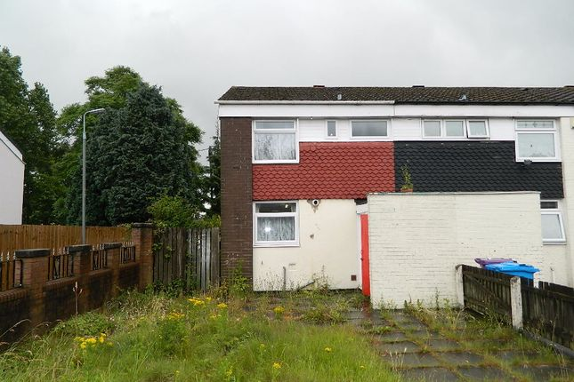 Thumbnail End terrace house for sale in Steers Croft, Liverpool