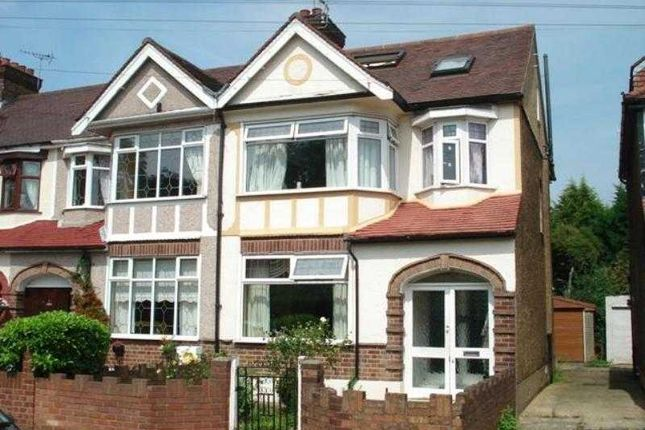 Thumbnail Semi-detached house to rent in Eccleston Crescent, Chadwell Heath, Romford