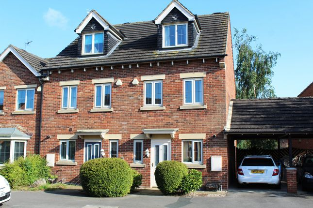 Thumbnail Town house for sale in Sundrew Avenue, Goole