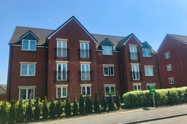 Thumbnail Flat for sale in Knights Walk, Caerphilly