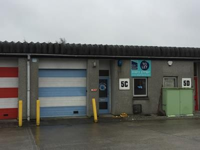 Thumbnail Light industrial to let in Unit 5C, Carminow Road Industrial Estate, Bodmin, Cornwall