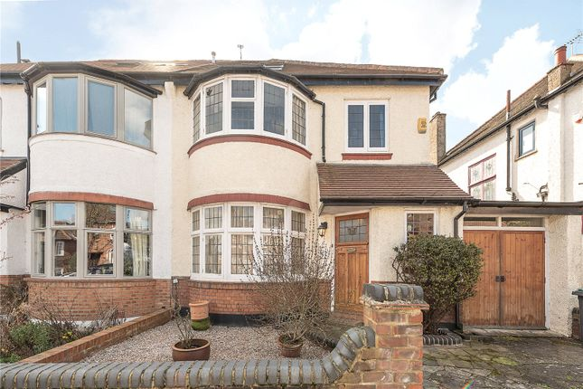 Thumbnail Semi-detached house for sale in Grosvenor Road, Muswell Hill, London