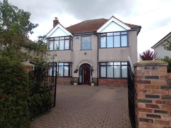 Thumbnail Detached house for sale in Church Road, Hale, Liverpool