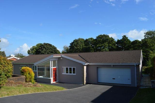 Thumbnail Detached house to rent in Meadow Rise, Derwen Fawr, Sketty, Swansea