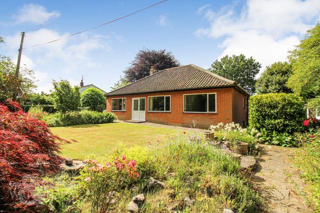 Thumbnail Detached bungalow for sale in South Burlingham Road, Lingwood, Norwich
