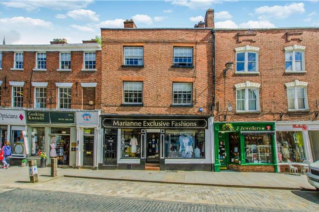 Thumbnail Retail premises for sale in Retail/Residential Investment, 4-5 Wyle Cop, Shrewsbury, Shrewsbury, Shropshire
