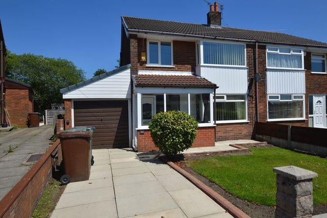 Thumbnail Semi-detached house for sale in Newington Drive, Bury
