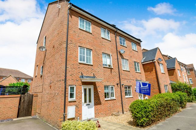 Thumbnail End terrace house to rent in Greensand View, Parklands, Woburn Sands