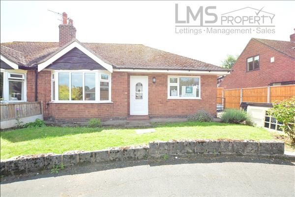 Thumbnail Bungalow to rent in Church Close, Weaverham, Northwich