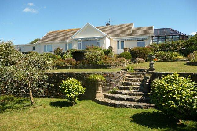 Thumbnail Detached bungalow for sale in Golf Course Road, Newport, Pembrokeshire