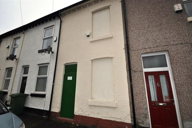 Thumbnail Terraced house for sale in Claughton Place, Birkenhead