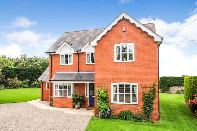 Thumbnail Detached house for sale in Burley Gate, Hereford