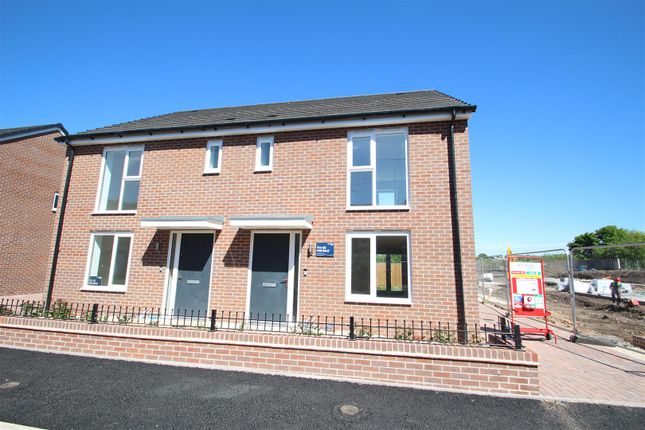 Thumbnail Semi-detached house for sale in The Houghton, Victoria Park, Stoke
