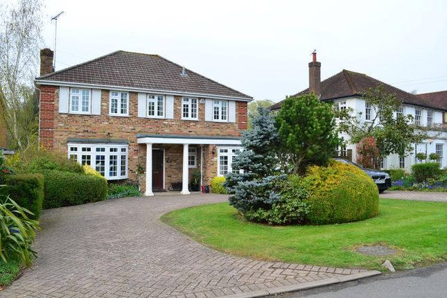 Thumbnail Detached house to rent in Heathside Road, Moor Park