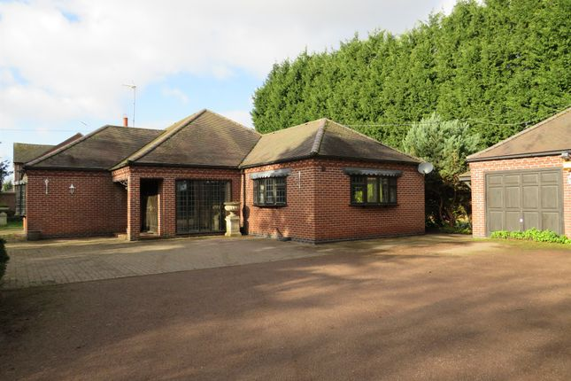 Thumbnail Detached bungalow for sale in Trent Lane, Weston-On-Trent, Derby