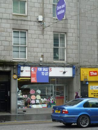 Thumbnail Retail premises to let in 25 Union Street, Aberdeen