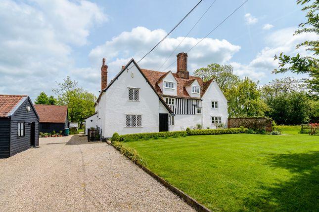 Thumbnail Country house for sale in Pledgdon Green, Henham, Bishop's Stortford