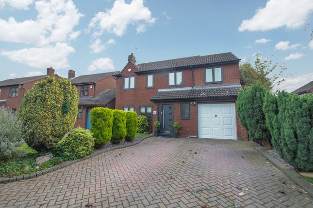 Thumbnail Detached house for sale in Home Farm Close, Witherley, Atherstone
