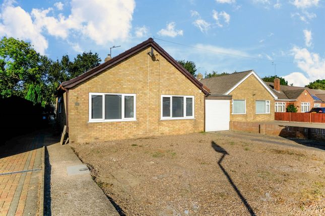 Thumbnail Detached bungalow for sale in Coneygree Road, Stanground, Peterborough