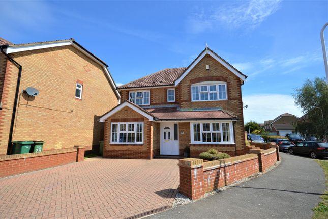 Thumbnail Detached house for sale in Heron Forstal Avenue, Hawkinge, Folkestone