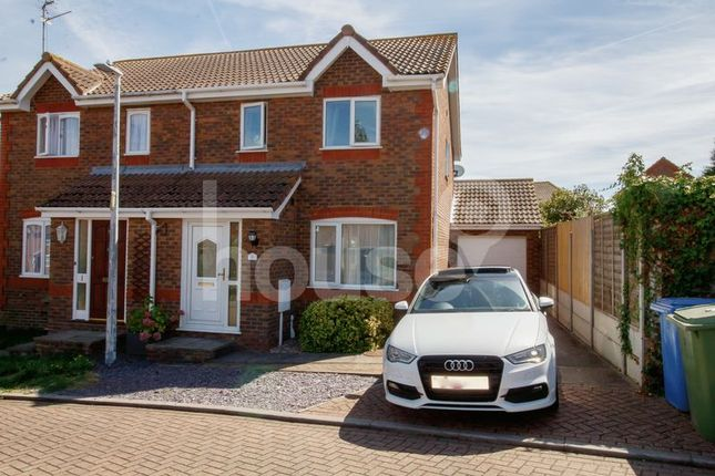 3 bed semi-detached house to rent in Marr Close, Minster On Sea, Sheerness ME12