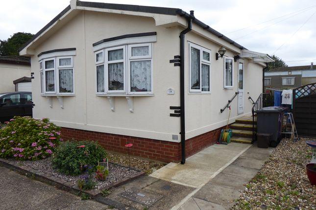 Thumbnail Mobile/park home for sale in Hillcrest Park, Wilbury Hills Road, Letchworth, Hertfordshire