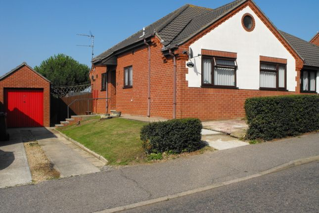 Thumbnail Semi-detached bungalow to rent in Meadowvale Close, Beccles
