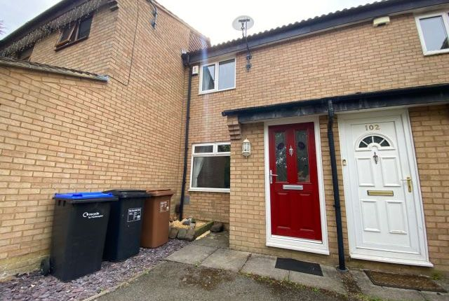 Thumbnail Terraced house for sale in Hamsterly Park, Southfields, Northampton