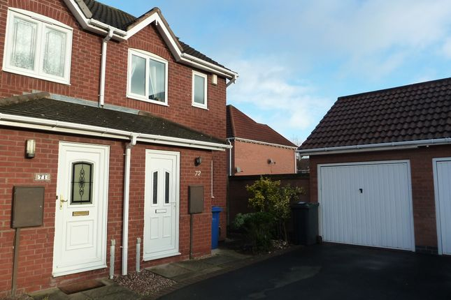 Thumbnail Semi-detached house for sale in Celandine, Tamworth