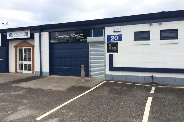 Light industrial to let in Unit 20 Lake Enterprise Park, Dinsdale Road, Bromborough, Wirral