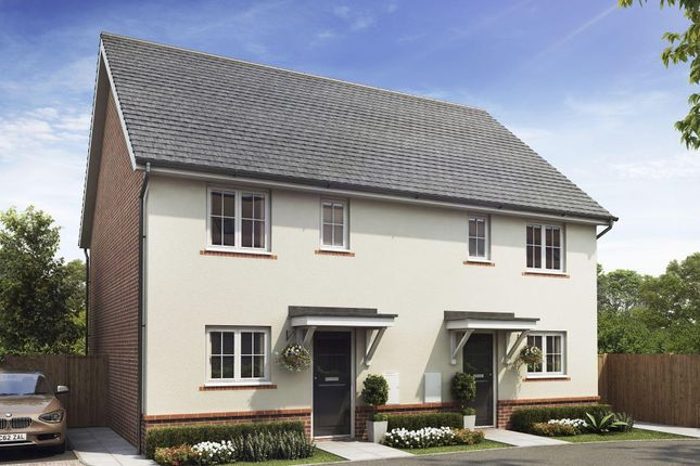 "Thumbnail Semi-detached house for sale in ""Barwick"" at Taylor Close, Harrietsham, Maidstone"