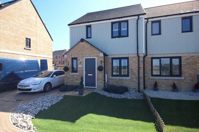 Semi-detached house for sale in Neal Crescent, Wick, Littlehampton