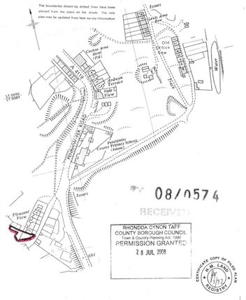 Thumbnail Land for sale in Pleasant View, Tonypandy
