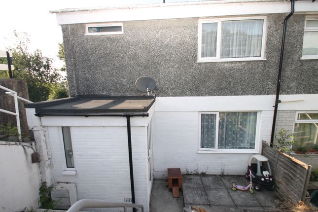 Thumbnail End terrace house for sale in Duloe Gardens, Plymouth