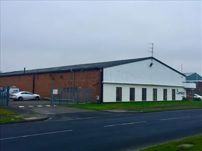 External View of The Century Building, Teesway, North Tees Industrial Estate, Stockton On Tees TS18