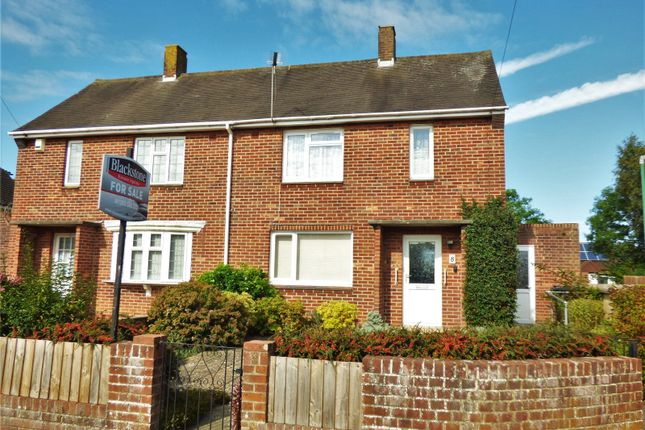 Thumbnail 2 bed semi-detached house for sale in Deacon Road, Bear Cross, Bournemouth, Dorset