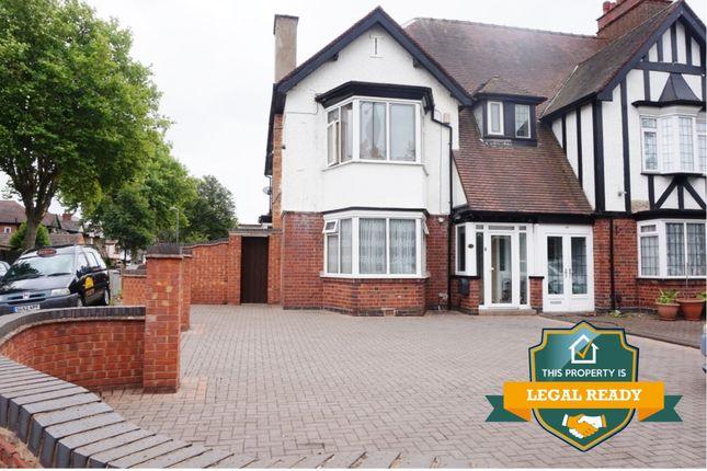 Thumbnail Semi-detached house for sale in Kingsbury Road, Erdington, Birmingham