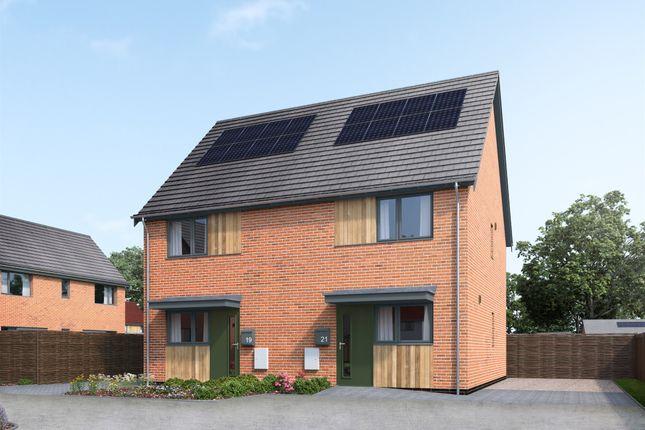 Thumbnail Semi-detached house for sale in Mill Road, Little Melton, Norwich