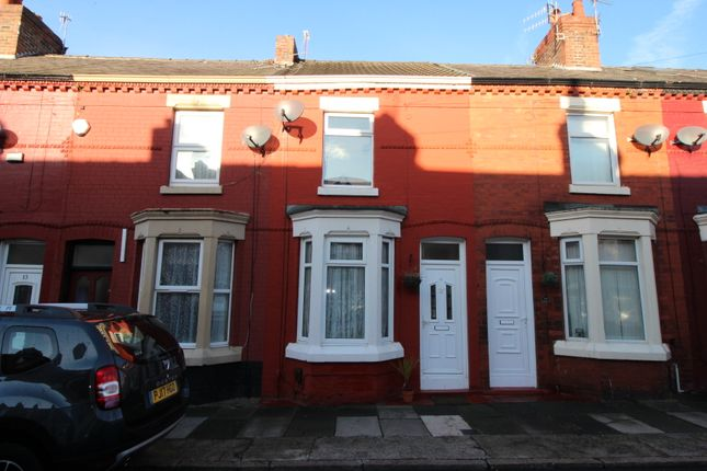 Thumbnail Terraced house to rent in Bellmore Street, Garston