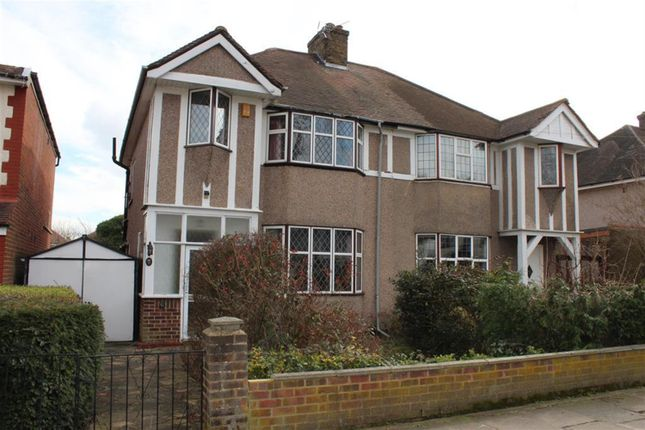 Thumbnail Semi-detached house for sale in Cavendish Avenue, Welling, Kent