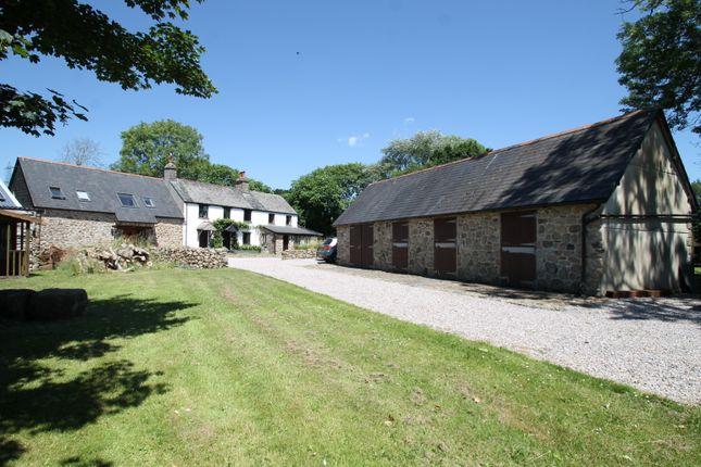 Thumbnail Farmhouse for sale in Ermington Road, Ivybridge