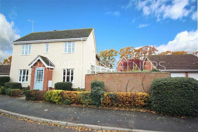 Semi-detached house for sale in Rowans Way, Leavenheath, Colchester