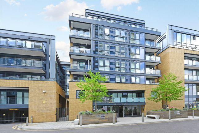 Thumbnail Flat to rent in Drew House, 21 Wharf Street, London