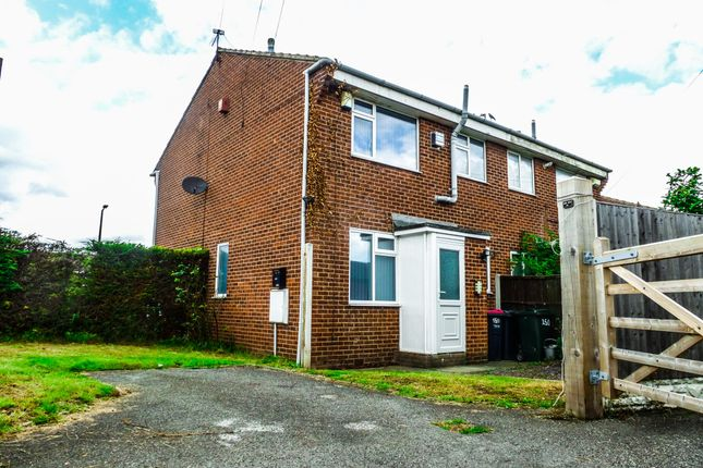 Front of Fleming Way, Flanderwell, Rotherham S66