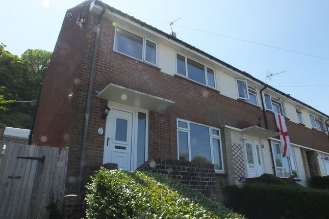 Thumbnail End terrace house to rent in Blois Road, Lewes